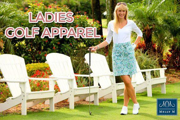 ladies golf apparel